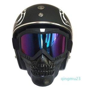 Wholesale-hot Skull Masks Skiing Eyewear Winter Windproof Motocross Sunglasses Snow Ski Glasses Snowmobile Goggles Skiing Mask