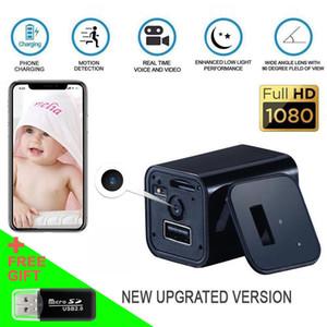 HD Mini DVR 1080P WIFI Şarj Dadı Kamera Cep Uzaktan Kumanda Adaptörü AB / ABD Plug Cam Ev Ofis Kablosuz Güvenlik USB Kaydedici Şarj