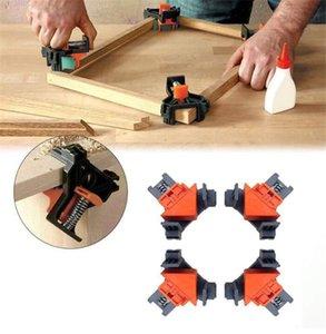 90 градусов прямоугольный зажим крепежные зажимы рамка для фотографий угловой зажим деревообрабатывающий ручной инструмент ремонт мебели фото армирование