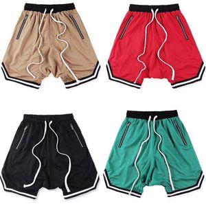 Nuova Beach Pants Shorts Estate cavallo di Uomini Donne lavato Shorts FOG morbida Pure Mens Sporting FOG pantaloncini casuali della spiaggia