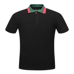 Men Polos Letter G Fashion Polo Shirts Designer Cotton Polos Top Tee For Men
