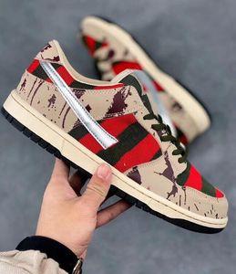 Nouveau 2020 SB Zoom Dunk Low Pro Freddy Krueger Mode Chaussures De Course Pour Hommes Femmes Dunks Planche À Roulettes Casual Designer Sport Sneakers