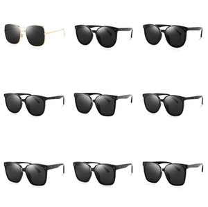 Eye-Catching Function Polarized Sunglasses For Men Matte Black Frame Fit. Painting Temples Play-Cool Sun Glasses#379