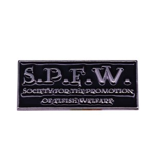 Spew society for the promotion of elfish welfare badge dobby elf pin potter wizard nerd collection