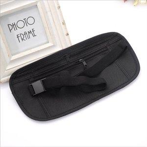 Adjustable Nylon cinto saco bolsa de viagem para Hidden ID Passaporte de Segurança Dinheiro Compact Segurança Magro Segredo para mulheres dos homens