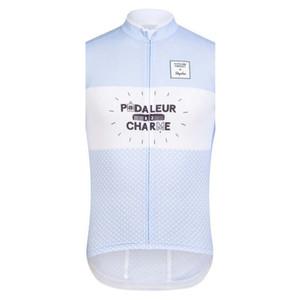 2019 Rapha Bisiklet yelek bisiklet kolsuz formaları giyim yaz bisiklet Giyim MTB Bisiklet Maillot çabuk Ropa Ciclismo K053005 kuru Cycling