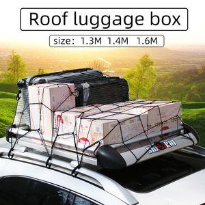 Coche del capítulo de equipaje de la azotea de aluminio para techos Marco soporte de viaje Carga Carga más de 100 kg Bastidores de equipaje Caja universal