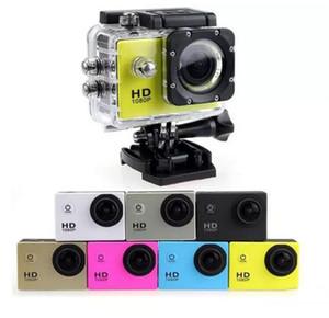 Водонепроницаемые экшн-видеокамеры Дешевые SJ4000 1080P Full HD Цифровые спортивные камеры до 30 м DV Запись Мини-лыжи для велосипеда Фото-видео-камера