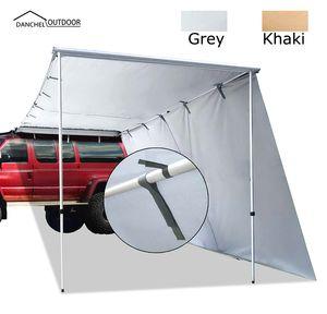 DANCHEL OUTDOOR автомобиль боковой тент Sidetent тент с 3м продлить на машине на крыше палатки, палатки автомобиля, боковые