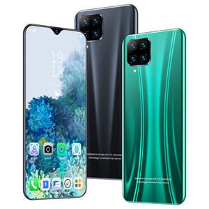 새로운 P40 국경 휴대 전화 6.3 인치 대형 화면 1 + 8 세대 쿼드 코어 스마트 안드로이드 전화 공장 직접 판매의 OEM P40를 지원