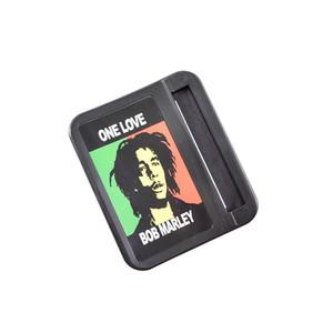 Gieth Bob Marley diy fumo di sigaretta manuale rullo tabacco macchina carta di rotolamento casella tabacco