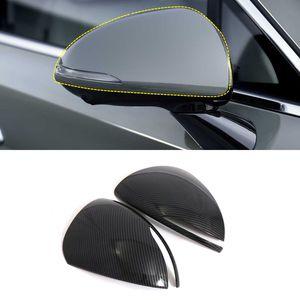Для Hyundai Sonata 2020 Внешних аксессуары ABS пластик Side зеркала заднего вида декоративной крышки TRIM 2pcs автомобиль Styling