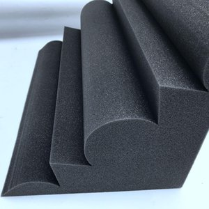 4 PC Corner Bass Trampa Acoustic Panel Studio Sound Absorción de espuma 12 * 12 * 24cm-MUSIC