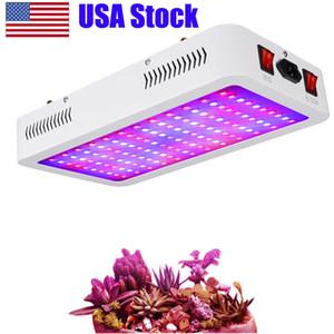 1200W Full Spectrum cresce a luz LED com IR UV para crescer plantas Tenda do crescimento usando Veg e Bloom Canal de plantas em diferentes estágios de crescimento