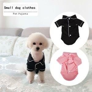 개를위한 고급 옷 패션 개 잠옷 작은 중형 개를위한 애완 동물 의류 옷 코트 Yorkies Chihuahua Bulldogs Jacket