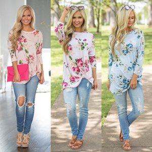 Las señoras de la nueva manera caliente ocasional de las mujeres blusas de manga larga 2019 de verano de la leche fibra tapas flojas delgadas de las camisas ocasionales