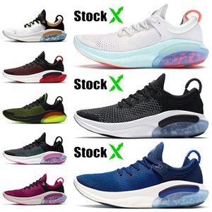 Nike Joyride Run Flyknit Vente Pas Chère Mode Knite Femmes Hommes Chaussures De Course Blanc Voile Racer Bleu Noir Rouge Violet Vert Joyride Formateurs Sneakers