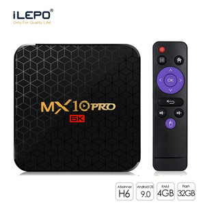 Android 9.0 TV Box MX10 PRO 4GB 64GB 6K Video Player Allwinner H6 Quad Core USB 3.0 WiFi Media Player