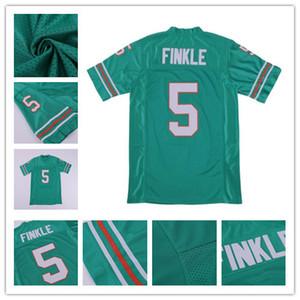 5 Ray Finkle da uomo La maglietta da calcio di Ace Ventura Jim Carrey Teal Green