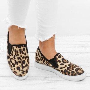 Loafers On MoneRffi Flats Yeni Moda panter Kadınlar Günlük Ayakkabılar, aşırı ısıya Düz Ayakkabı Kadınlar Loafers Flats Shoes'un Sneakers Kayma