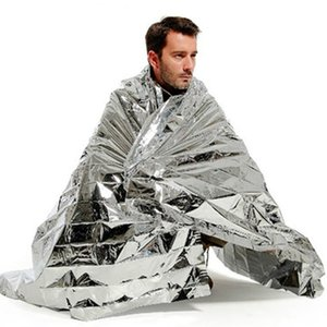 Camping & Hiking Camping Mat Portable Waterproof Emergency Space Rescue Thermal Mylar Blanket 1.3 x 2.1m