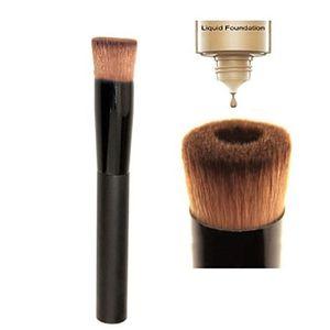 Yuvarlak Kafa Vakıf Makyaj Fırçalar Içbükey Sıvı Vakıf Fırça Çok Fonksiyonlu Eğik Kafa Gevşek Toz Fırçalar Makyaj Aracı