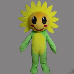 Factory Outlet EVA Material Helmet 8 style sunflower Mascot Costumes Crayon Cartoon Apparel Birthday party Masquerade WS968