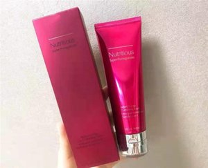 Nutritiva Súper granada limpiador facial reparación de la piel Botella roja con cheanning profundamente espuma suave Sin estimulación envío libre
