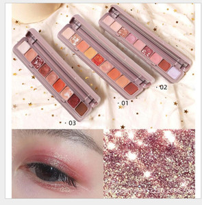 Maquillage 9color Keyboard fingertip eye shadow At will collision Colour Persistent no drop makeup Eye shadow Waterproof Fashion eyeshadow