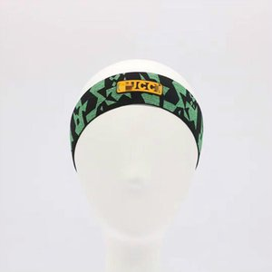 New Hot camouflage headbands Women Head Scarf Echarpes Foulards Cachecol Designer Elastic Headband Hair Bands for Men and Women