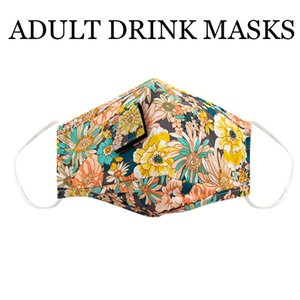 Masks PM2.5 for Adult Children Party Anti Drink Pollution Fog Cotton Mouth Straw Mask Reusable Washable Dustproof Protective Face Cover 2