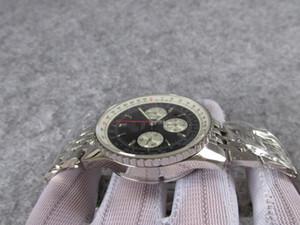 43 millimetri di vetro zaffiro impermeabile crono di lavoro AB012012 Cronografo 7750 automatico Valjoux cronometro uomini orologio da uomo orologio da polso