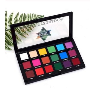 New Arrival 18 colors eyeshadow pallete matte eyeshadow nude eye shadow makeup pallete waterproof Pigment Long lasting sombras