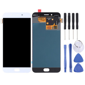 Supper AMOLED OLED Replacement For OPPO R9s LCD Display Touch Screen Without Frame Digitizer Assembly Original OEM White