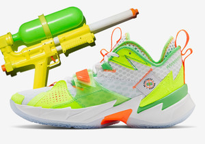 Jumpman Warum Nicht Zer 0.3 Splash Zone Männer Basketball Schuhe Zer0. 3 L. A. Born SUPER SOAKER Turnschuhe mit box kostenloser Versand