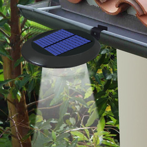 Солнечная лампа забор 9LED водонепроницаемый забор раковина лампы сад ландшафтное освещение светильник стены Открытый настенные светильники 10141