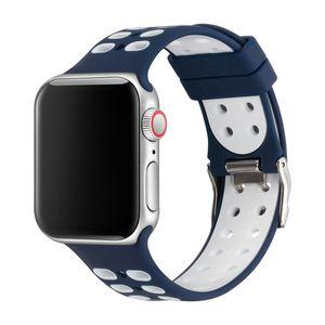 Reemplazo de silicona Bandas IWATCH correa de silicona para Apple Seguir Series4 / 3/2/1 81 005