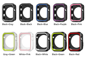 11 색상 스포츠 NK 실리콘 케이스 애플 시계 소프트 보호기 보호 케이스 커버 iWatch 애플 시계 1 2 3 4