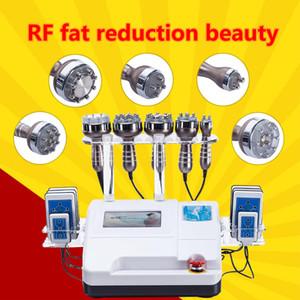 6 in1 40K 초음파 Cavitation RF 진공 흡입 바디 슬리밍 아름다움 기계 스파 체중 감소 CE / DHL 빠른 배송