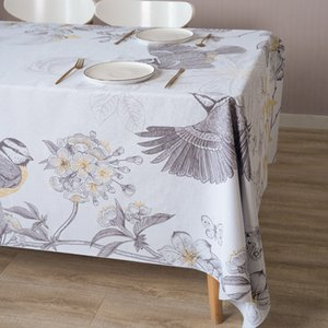 PVC Table Cloth Waterproof Kitchen Table Cover Plaid Tablecloth Rectangular Ins Style Desk Accessories Soft Support Custom Size T200703
