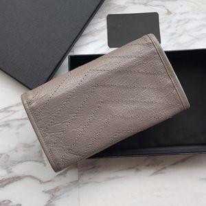 Женщины роскошные мода в возрасте кожаный кошелек высокое качество старинные дизайнерский сцепление женственный кошелек бренд Niki длинный кошелек