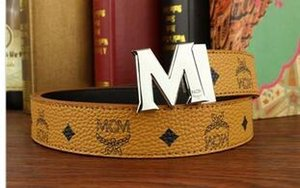 2018 F Hebilla Cinturones de diseño Hombres y mujeres Cinturones de moda Cinturón de cintura de cuero genuino Marca de lujo