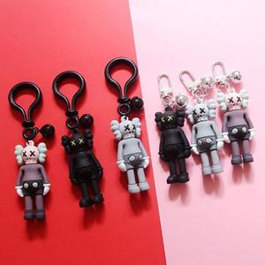 Luxus-Designer Keychainins Sesame Street KAWS Doll Doll Anhänger Nettes Modisches Keychain kreatives Schoolbag Ornament Rucksack Ornament