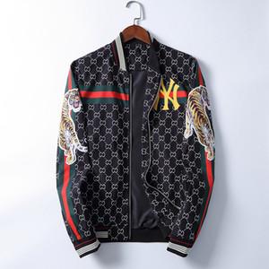 Hot Herren Designer mit Kapuze Jacken Windjacke Sport New Frühling und Herbst Freizeitjacke Kleidung Zipper Collar Plaid Printed dünne Jacken