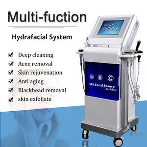 Miglior pelle HydraFacial Md Macchina Hydro dermoabrasione pulizia del viso ringiovanimento Microdermabrasion Apparecchiatura HydraFacial punti neri In vendita
