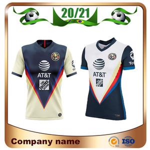 2019 LIGA MX Club America camisetas de fútbol 19/20 equipo de América 10 # C.DOMINGUEZ 24 # O.PERALTA 22 # P.AGUILAR Uniforme de camiseta de fútbol