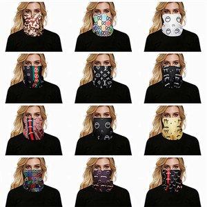 Роскошные дизайнерские многофункциональные Маски Женщины Велоспорт Разнообразие Тюрбан Магия оголовье Veil Мульти маски Cap Headgear черепа Бандана Продажа