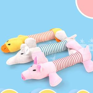Плюшевые игрушки для собак Puppy Pet Toy Chews Squeaky Duck Elephant Популярные несколько стилей Прекрасный 3 9lc F1