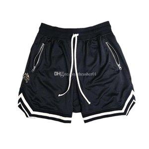 Summer Mens Shorts Street Stylish Jogger Mesh Shorts Casual Hip Hop Breathable Mens Sweatpants Size M-XXL