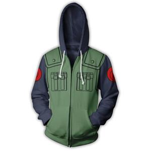 Hommes Femmes New Street Fashion Sweat-shirts 3D Imprimé Zipper Sweat Casual Outwear Vêtements Homme Hauts Taille Plus